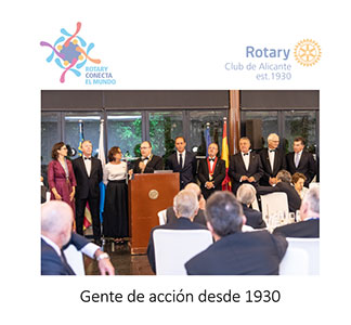 Informe Anual del Rotary Club Alicante 1.07.2019-30.6.2020